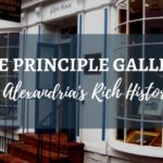 Principle Gallery and Alexandria's Rich History